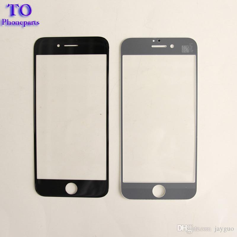 Front Outer Touch Screen Glass Lens Replacement for iPhone 6 6 plus 6s 6s plus 7 7 Plus free DHL
