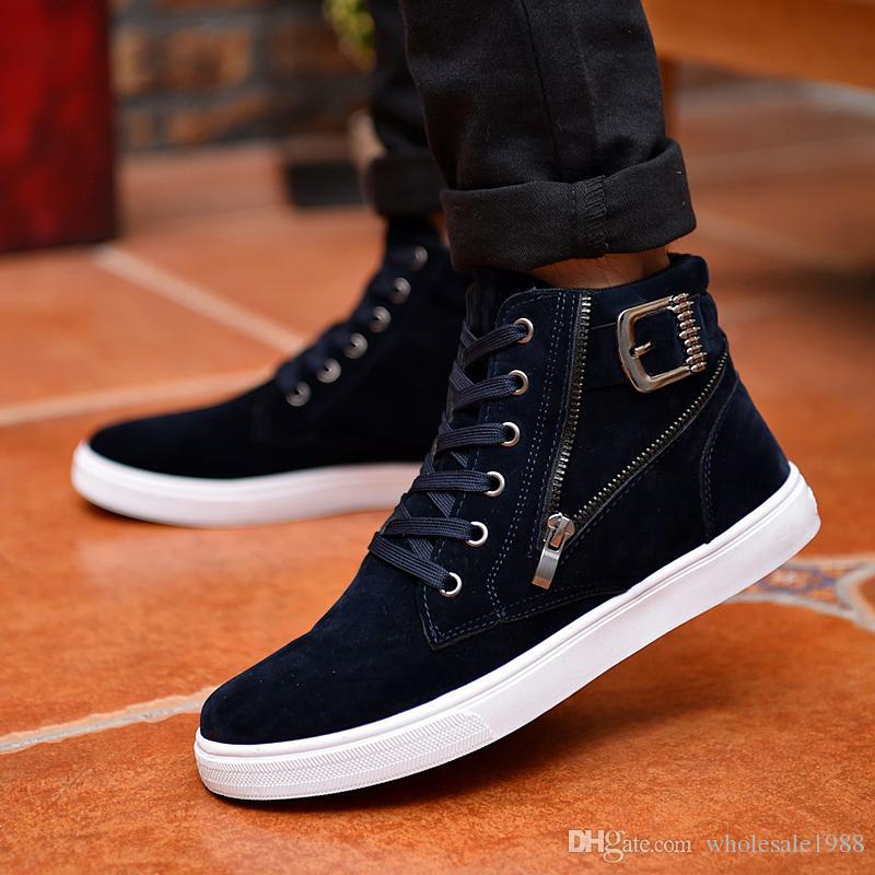 En Chaussures Vente Chaude Flock Acheter Hommes Cuir 2018 6f7yvYgb