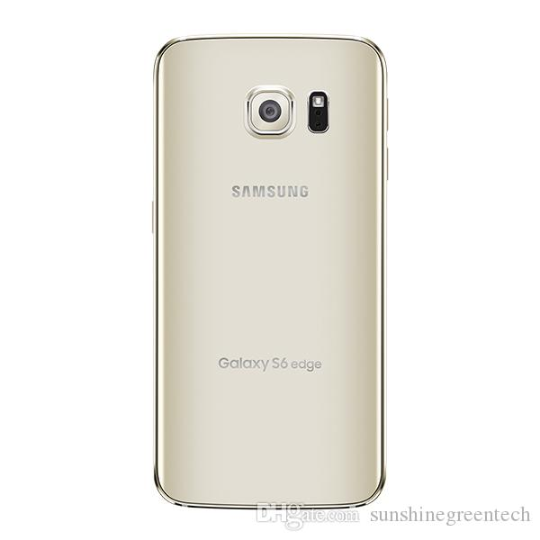Refurbished Samsung Galaxy S6 Edge G925F G925A G925T Factory Unlocked Cell Phones Android Refurbished phones 3GB RAM 32GB ROM Smartphone