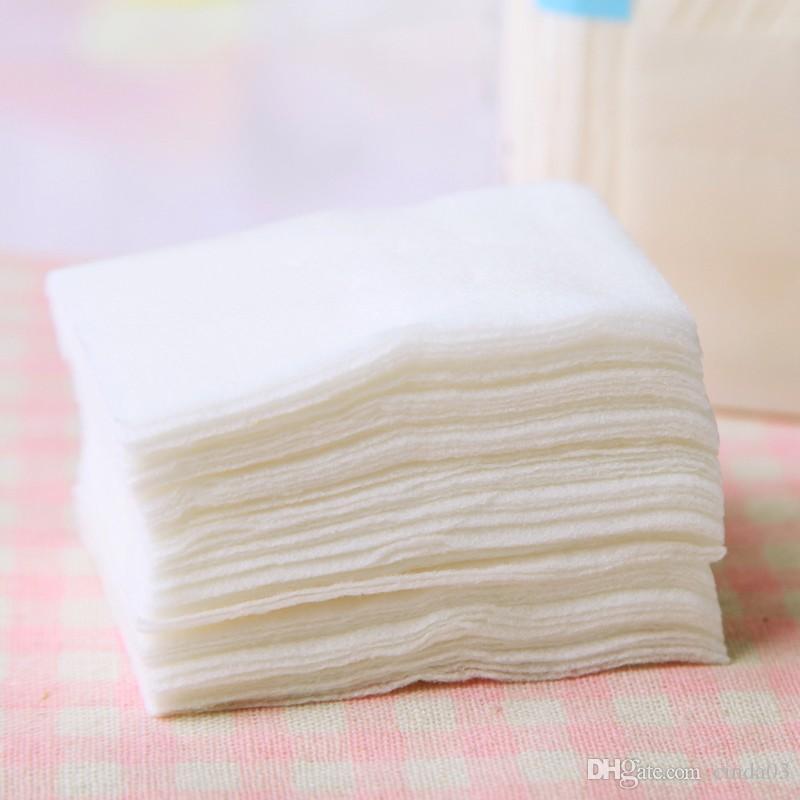 Gros-New Maquillage coton pour le visage Puff femmes Maquillage du visage Remover Cotton Pad beauté Outils livraison gratuite