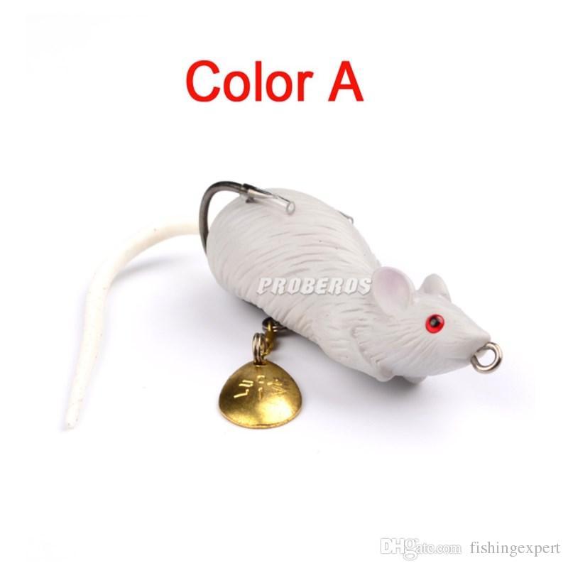 Lifelike Mouse Soft Baits Bionic Frog Fake Baits 11.6g 6.8cm Bass Plastic Fishing Lure for Fishing Snakehead
