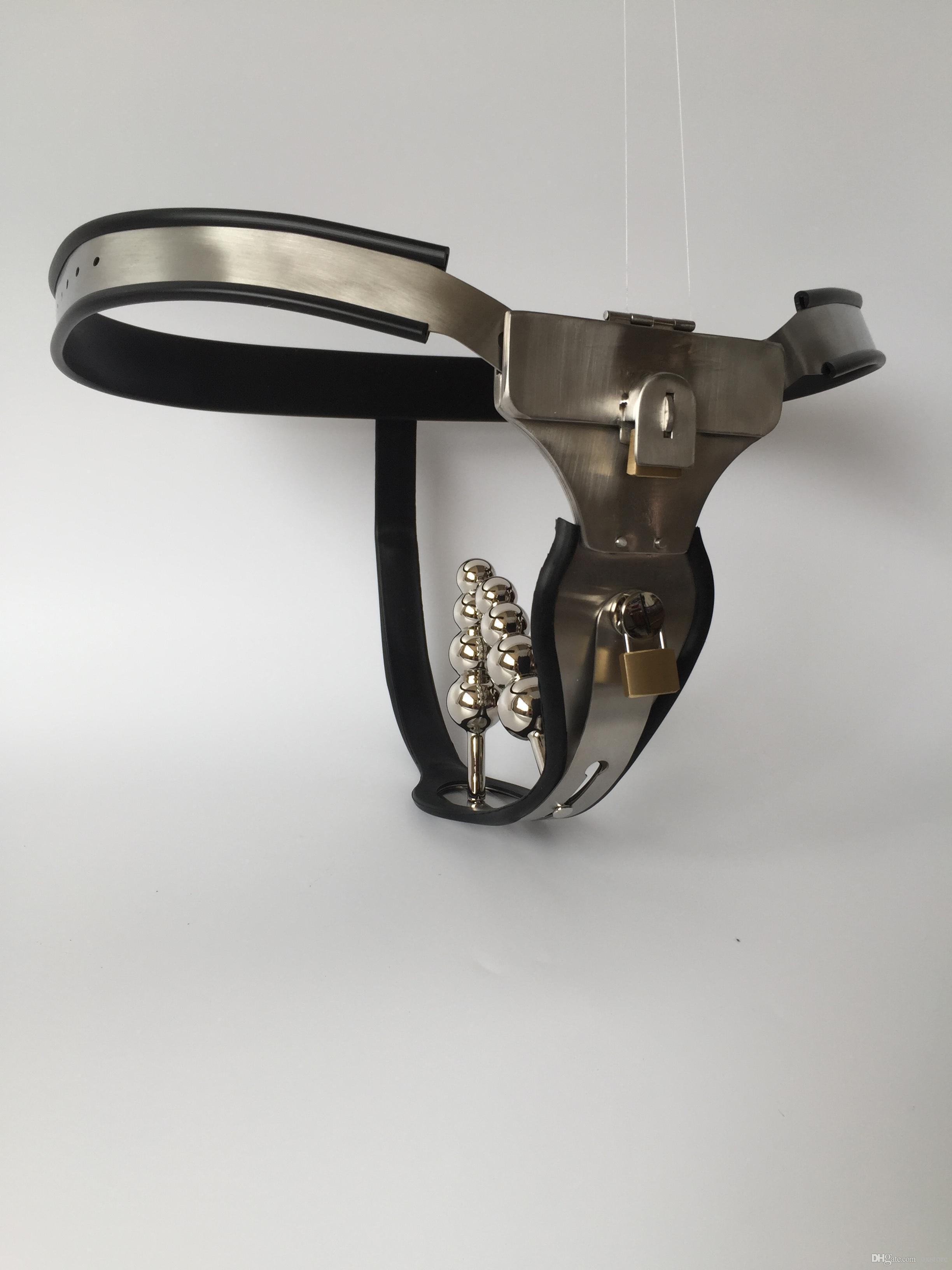 Steel anal plug