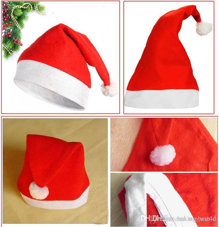 d7784a86de679 Wholesale Christmas Hat Santa Claus Hat Xmas Lollipop Hat Mini ...