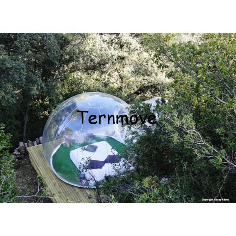 Transparent bubble tent1