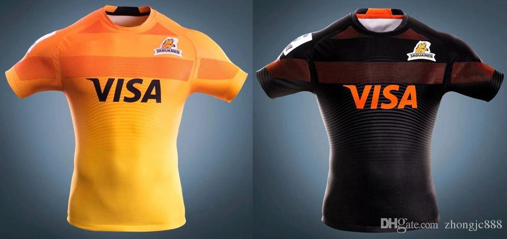 425d7096182 2017 Jaguares rugby jerseys Panthers jaguares home away rugby shirts 2017  2018 The latest jaguars jersey size S - 3 XL