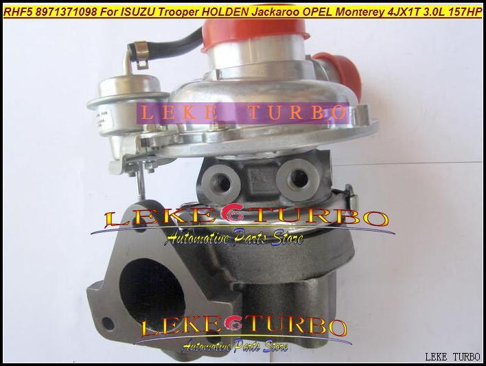 RHF5 8971371098 Turbo Turbocharger For ISUZU Trooper 1999-04 HOLDEN Jackaroo OPEL Monterey 4JX1TC 4JX1T 3.0L 157HP (3)