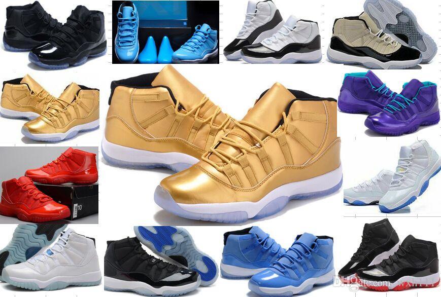 8b64d3c716fbfc Wholesale 11s 72 10 Concord Bred Legend Blue Gamma Blue Space Jam  Basketball Shoes Mens   Women S 11s Chicago Gym Red Sneakers 36 47 Jordans  Shoes Sport ...