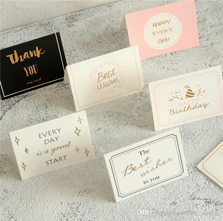 Christmas Cards Printed Xmas Ornaments Wishing Card Sweet Wish ...