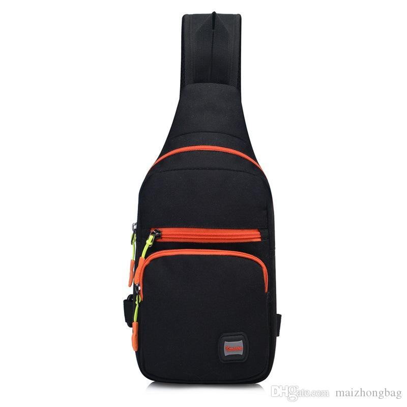 2017 남성 여성 가슴 가방 허리 가방 캐주얼 옥스포드 스포츠 가방 어깨 가방 크로스 바디 가방 여행 체육관 가방