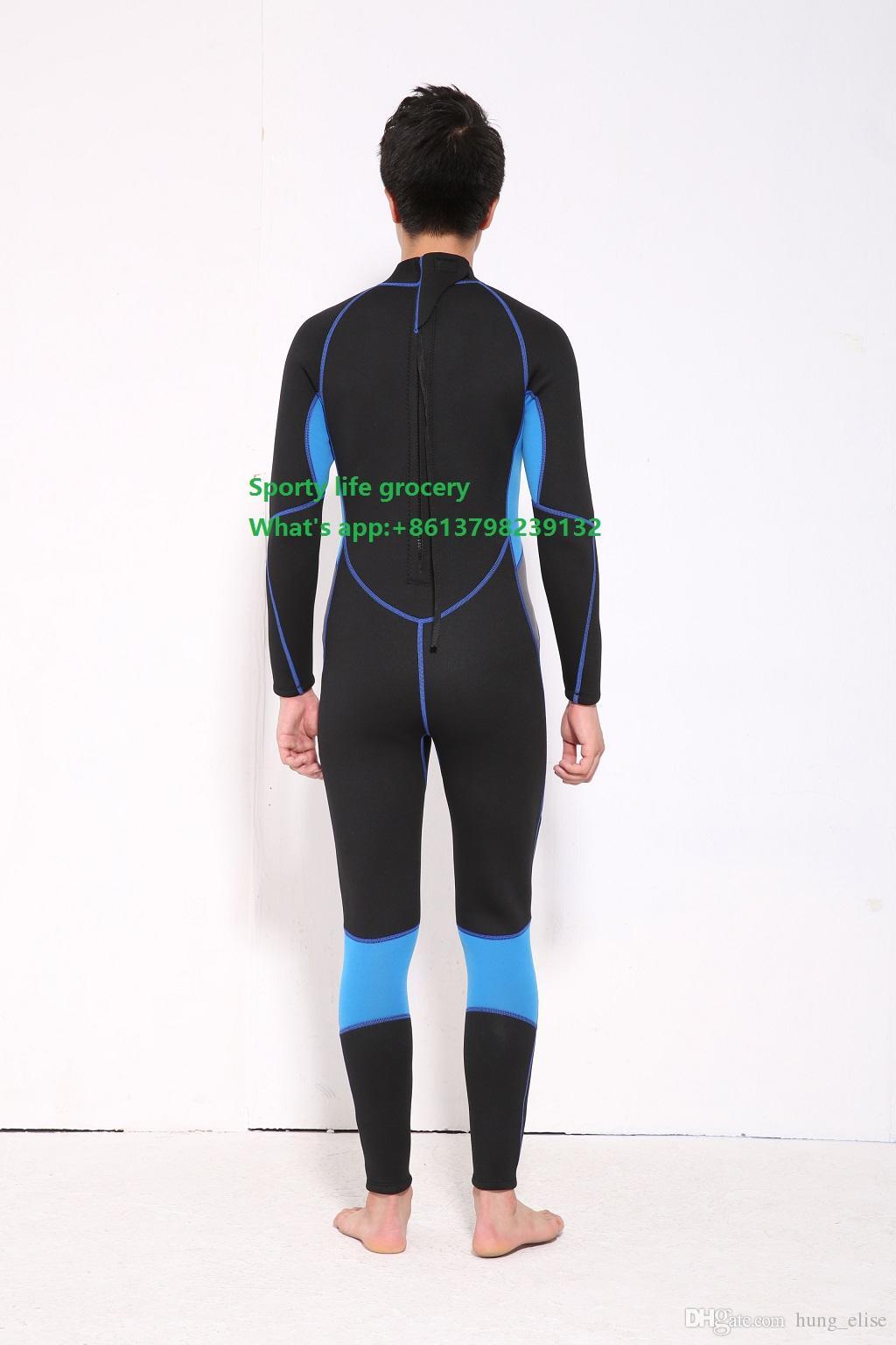 Wetsuit mergulho 3mm ternos para homens neoprene natação, roupas de surf mergulho quipment, macacão, bodysuit completo