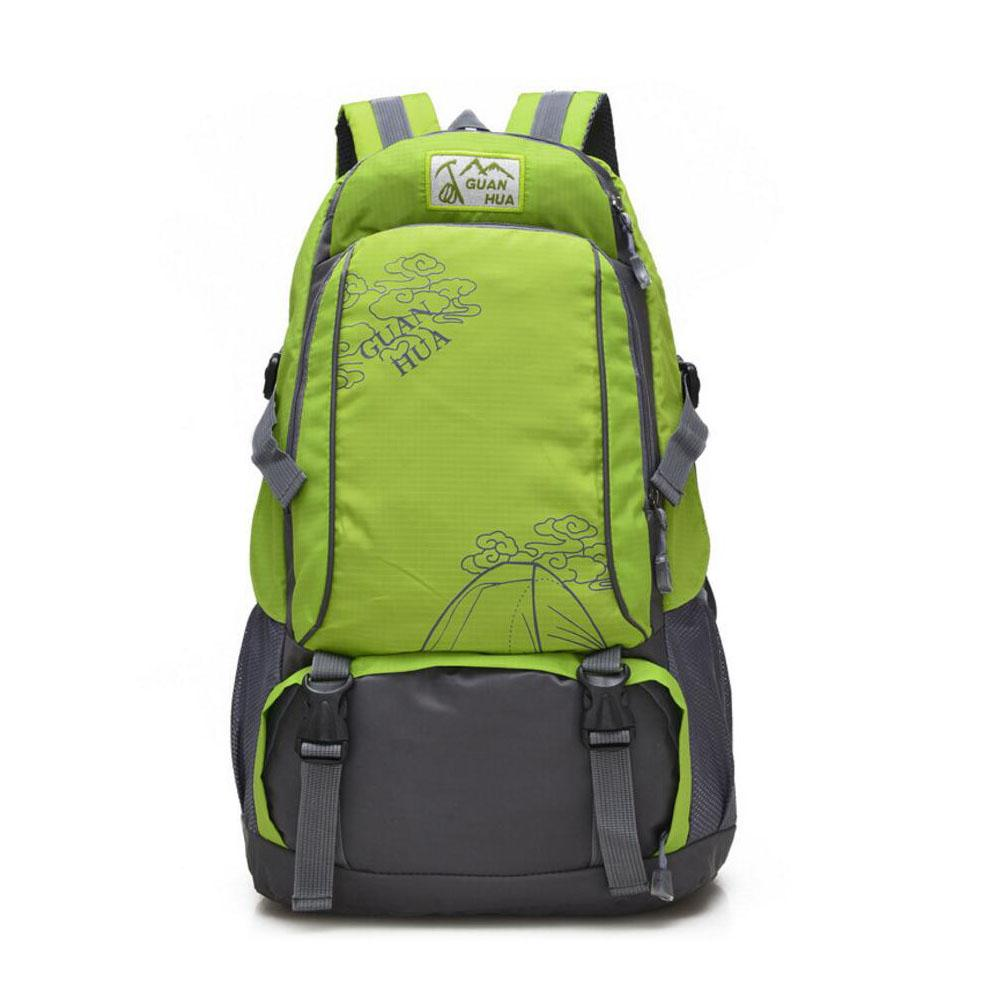 4c92ef7c08d0 High Quality Casual Nylon Hiking Outdoor Waterproof Backpack Camping Climb  Gym Travel Climbing Daypack Shoulder Bag Backpacks Back Packs Backpack  Daypack ...