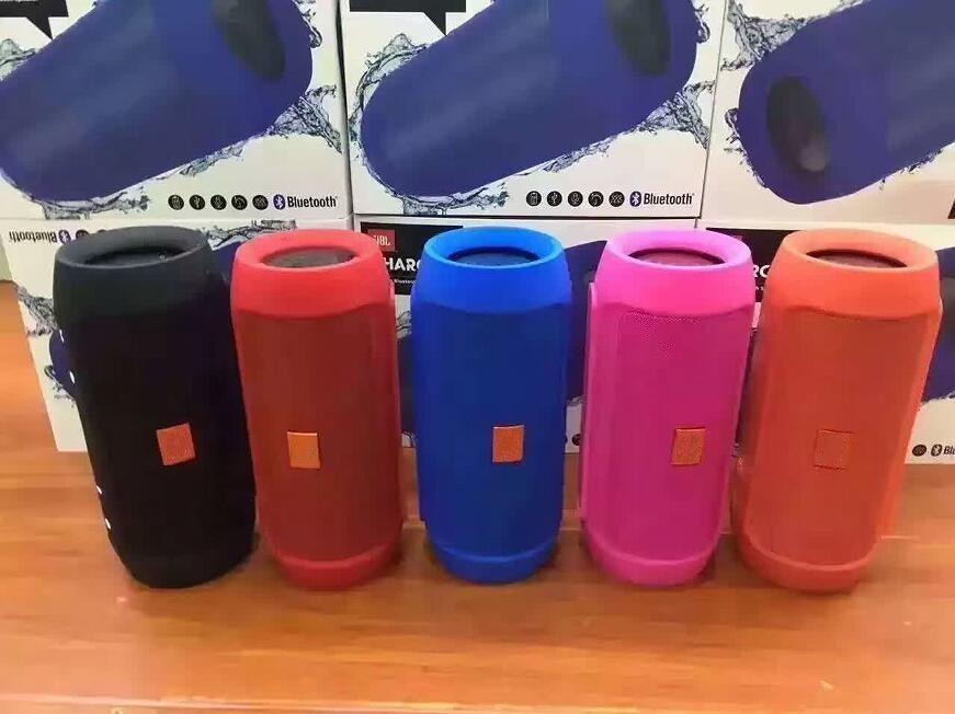 VENDITA CALDA Incredibile suono Carica 2+ Bluetooth Altoparlante altoparlante esterno Altoparlante Bluetooth impermeabile Può essere utilizzato come Power Bank