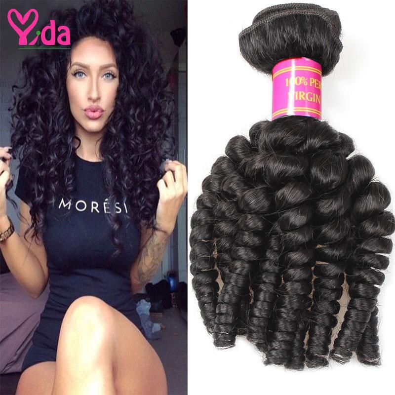 Malaysian Aunty Funmi Virgin Hair 100 Percent Human Hair Weave