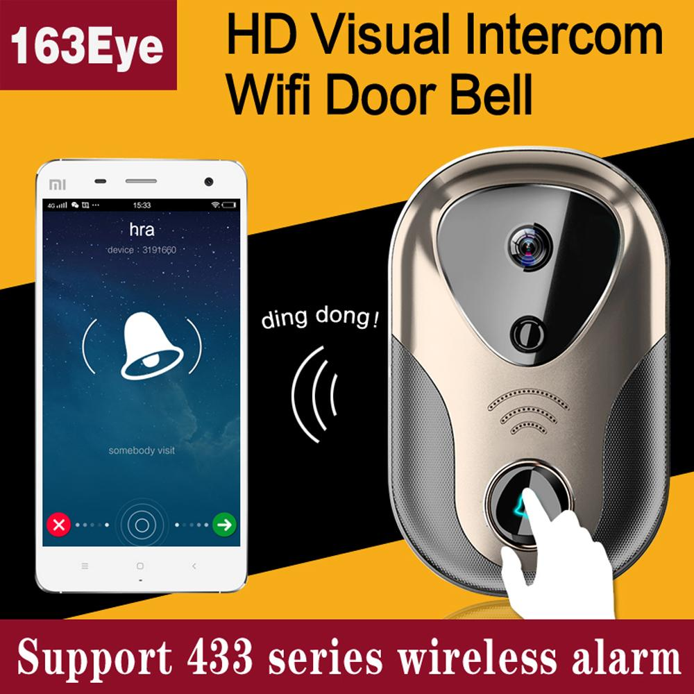 Best doorbell camera system - 2018 Video Door Intercom Wifi Ip Camera System Support 433 Series Wireless Alarm Doorbell Sd Card Hd Visual Intercom Wifi Door Bell From Cctvcwh