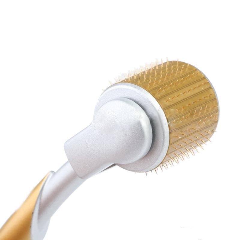 ZGTS 더마 롤러 티타늄 바늘 - 노화 방지 흉터 여드름 주름살 셀룰 라이트 마이크로 바늘 개인 사용을위한