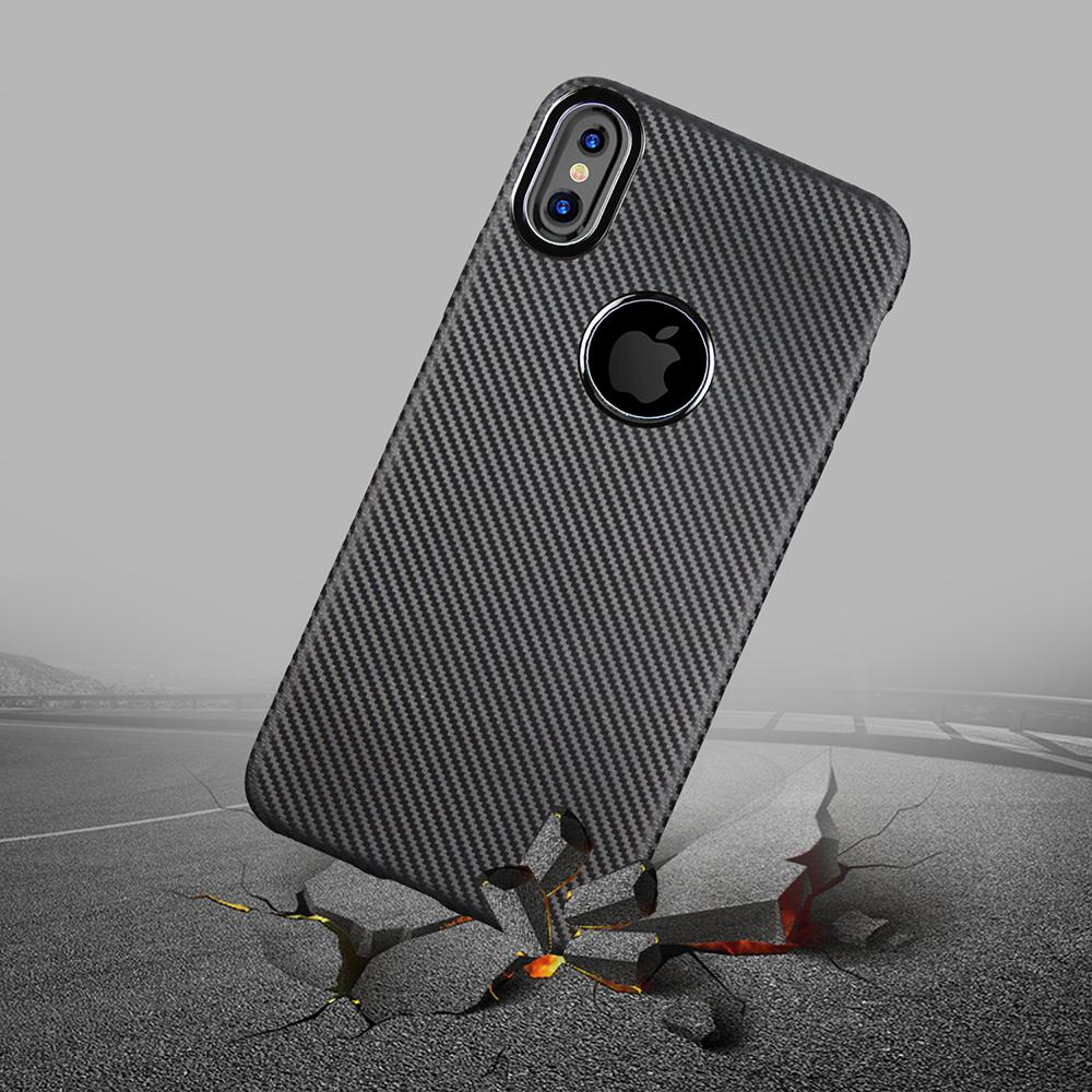 best service 323f1 64dbd for iPhone X Case Plain Black Luxury Plain TPU Dirt Resistant Coque 5.8  Inch Back Covers Phone Bags Cases for iPhone X Holder