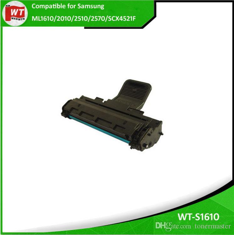 6 PK ML1610 ML-1610 Toner Cartridge BK Compatible for Samsung ML 2010 2510 2570