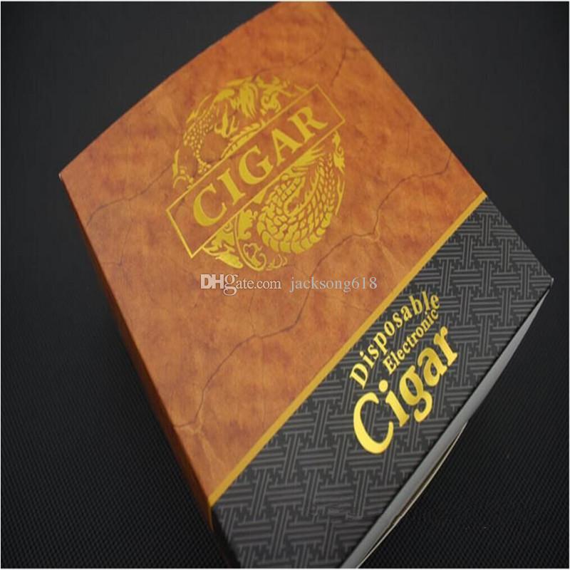 HotDisposable Cigar 1800 Puffs Electronic Cigarette E Cigars E Cig Vapor Cigarrillos potentes Mejor que Shisha E Hookah Disposabal / lote