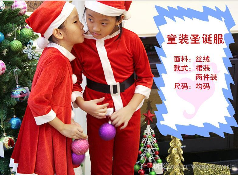 Santa Claus Christmas Clothes, Christmas Clothing Children ...