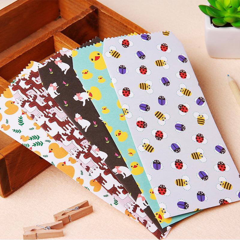 d8d752054c063 Wholesale-5 pcs/lot Cute Kawaii Animal Flower Envelope For Letter Paper  Kids Student Gift Korean Stationery Free Shipping 923