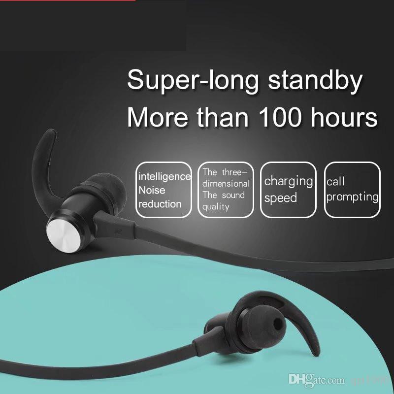 1 pièce mini-écouteurs bluetooth intra-auriculaires fixation magnétique de haute qualité casque bluetooth sans fil de haute qualité pour la musique mp3