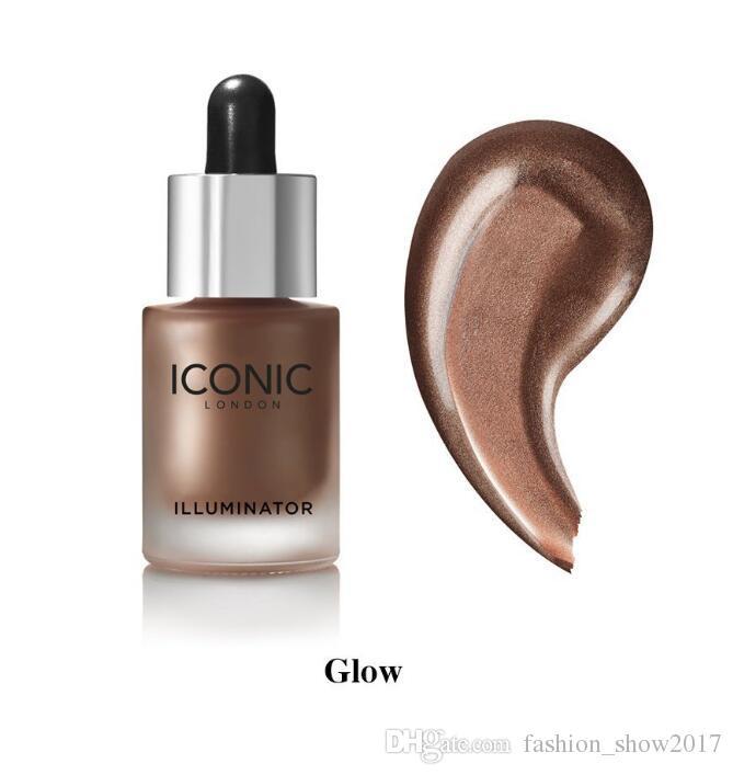 جديد Arrial Iconic London Illuminator Liquid Bronzers Highlighters in Shine الأصلي تألق الوهج 3 لون الوجه يشكلون تمييز