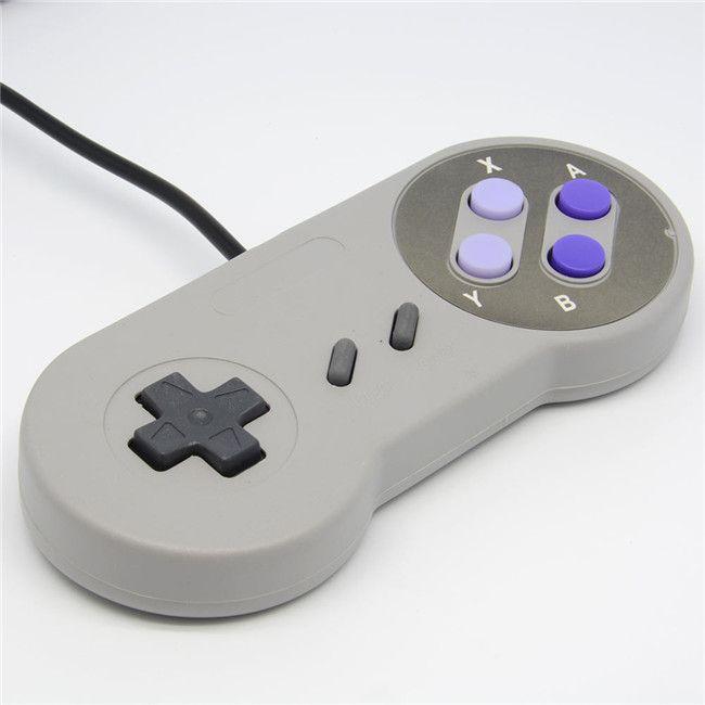 Rétro Jeu Gaming pour SNES USB GamePad Joystick Contrôleur Pour Windows PC pour Mac Six Boutons Numériques