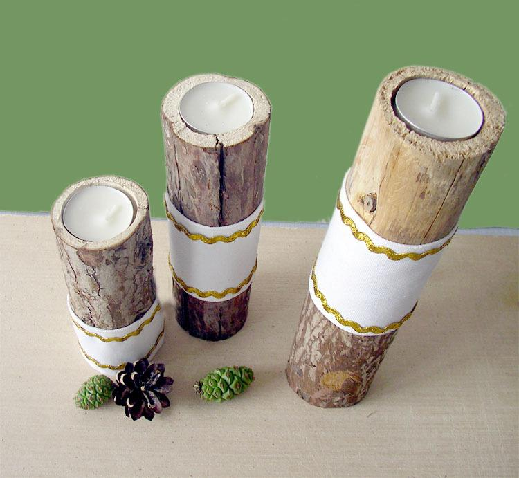 see larger image - Tea Light Candle Holders