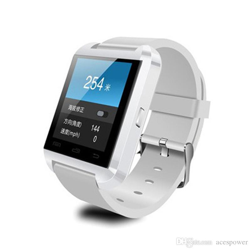 Smart Watch U8 U Watch Smart Watches For Smartwatch Samsung Sony Huawei Android Phones with retail package