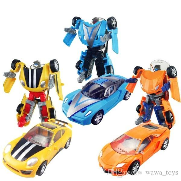 2019 Transformation Robots Deformation Car Kids Toys Birthday Gifts Mini Pocket Toy Series Boy Kid Children Christmas Gift From
