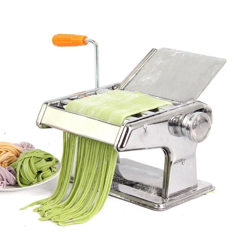Ferramentas de cozinha de cozinha em casa Manual de Aço Inoxidável Fabricante de Macarrão Máquina de Macarrão, Máquina de fazer macarrão