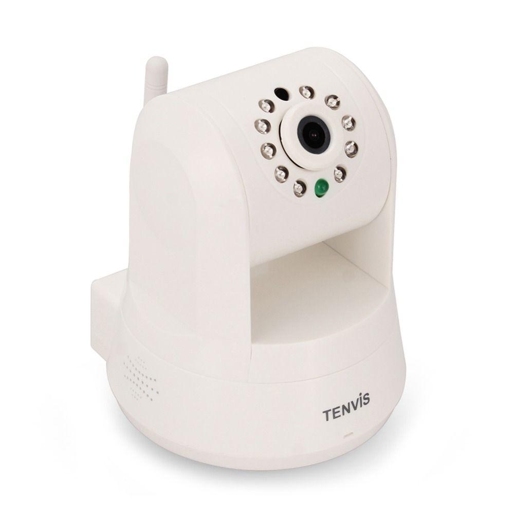 Tenvis Wifi Wireless 720p Pan/Tilt Robot Ip Camera 1mp Ir Night ...
