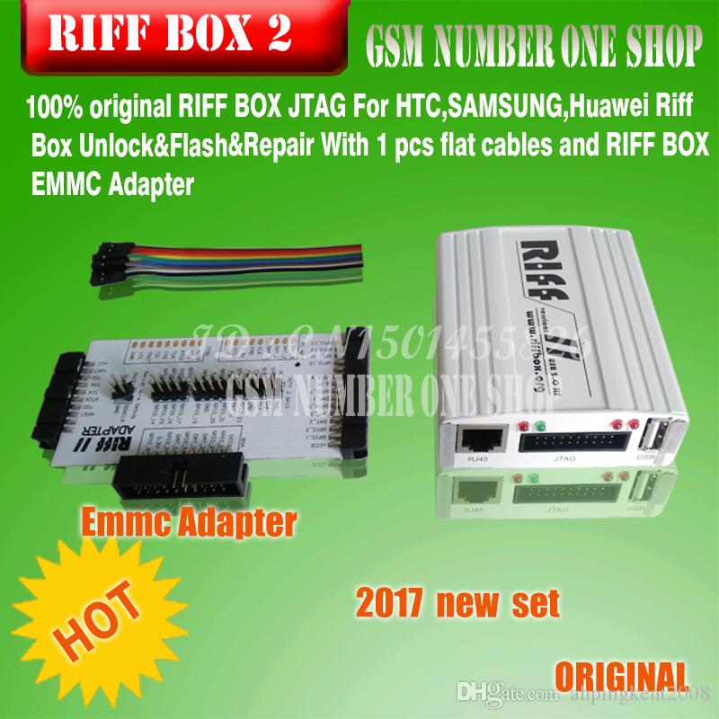 2018 Newesr version Riff Box 2 for LG&HTC, Samsung mobiles Repair and Flash(package with 1 PCB +2 FLEX CABLE)