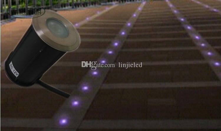 Best Selling 3W LED Waterproof IP68 Outdoor Ground Garden Path Flood Landscape Light LED underground lamp AC/DC12V /AC85-265V