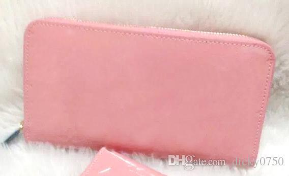 الجلود الجملة براءات تسلق أزياء ذات جودة عالية مربع الأصلي طويلة عملة المحفظة محفظة متعدد الألوان المرأة سستة الكلاسيكية جيب فاخرة