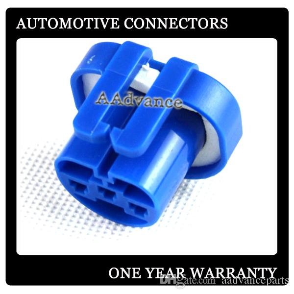 3 Way Automotive Headlight Connector Plug female 9004 HB1 9007 HB5 Lamp  Bulb Socket GM FORD DJ9004-3-21