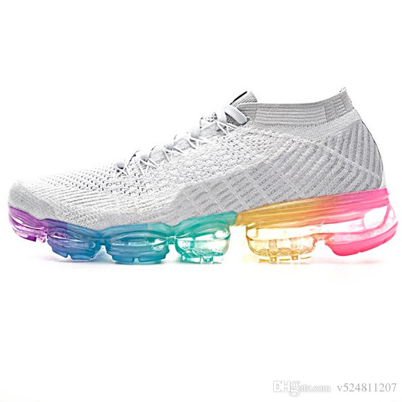 Rainbow Jogging Shoes Sport Sneakers Casual Shoes