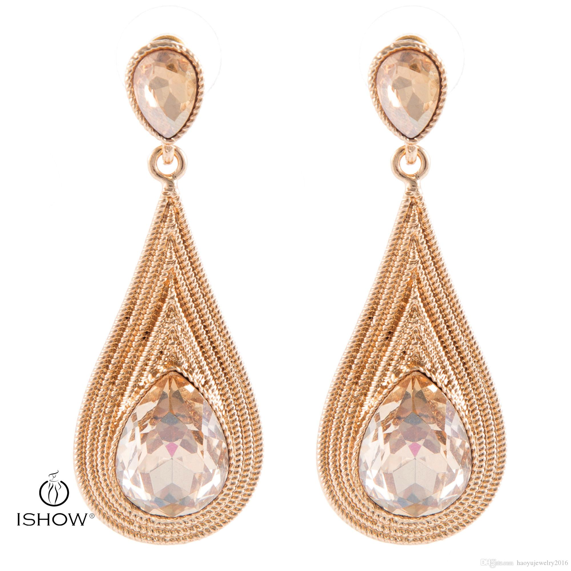 earrings for id diamond master j jewelry teardrop and champagne dangle sale at white