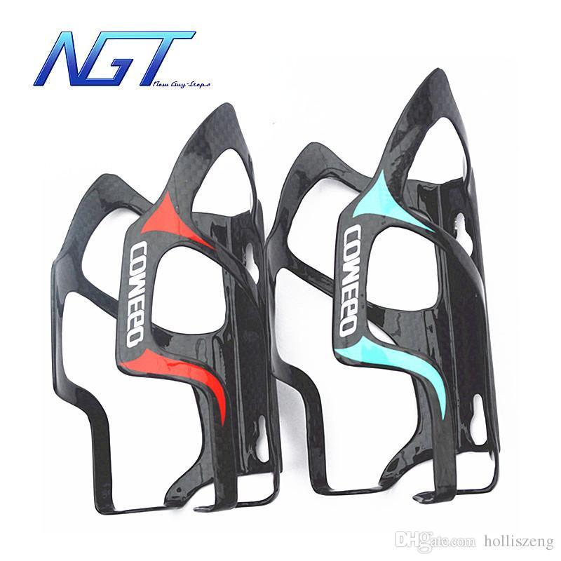 New Guy Steps Carbon Cage Portaborraccia bicicletta Portabatteria Accessori Carbono Vendita Il telaio Bicicleta