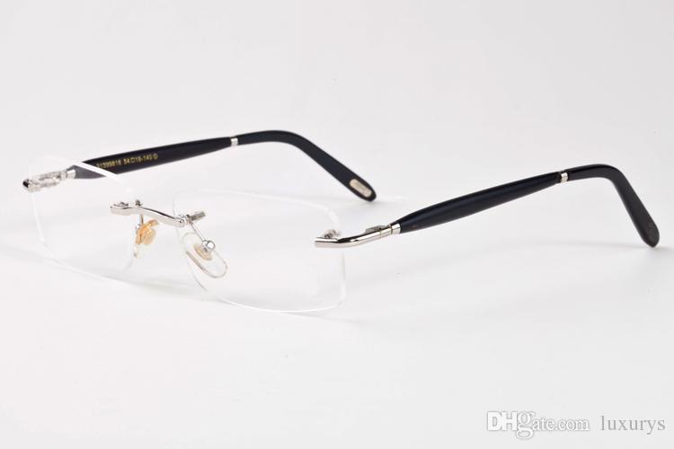 wooden sunglasses environmentally new fashion men/women glass bamboo wood sunglass men rimless retro vintage frame UV sun glasses