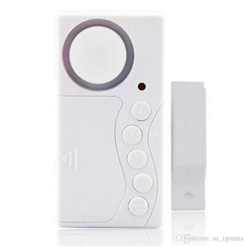 Dedektör Alarm Şifre Akıllı Ev Alarm Uyarı Sistemi Manyetik Şerit Ev Güvenlik Koruma Sensörü Kiti Kablosuz Siren