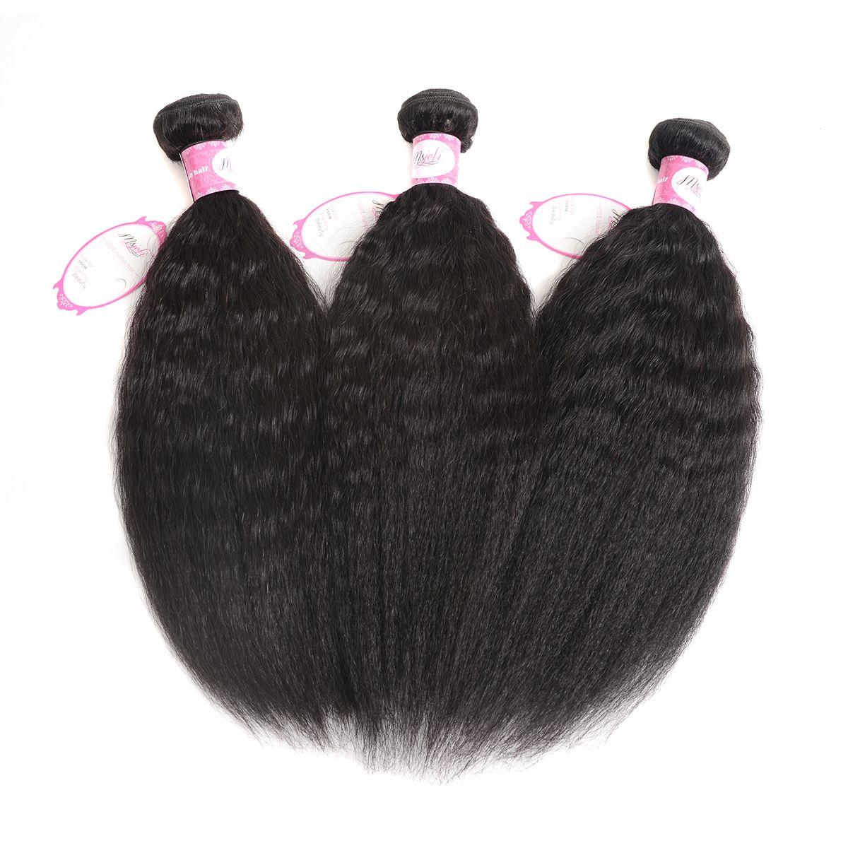 9A Mink Brazilian Virgin Hair Bundles Body Wave Brazilian Human Hair Bundles Loose Wave Deep Wave Kinky Straight Hair Weave Bundles