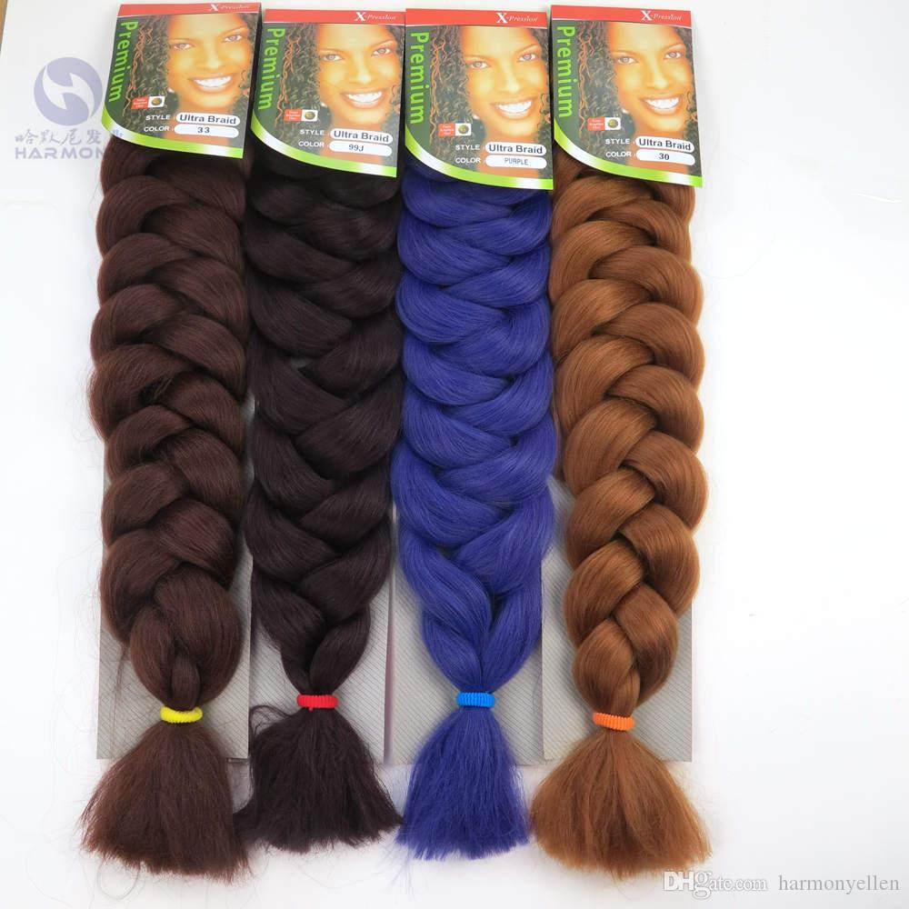 New arrival exprssion braiding hair super