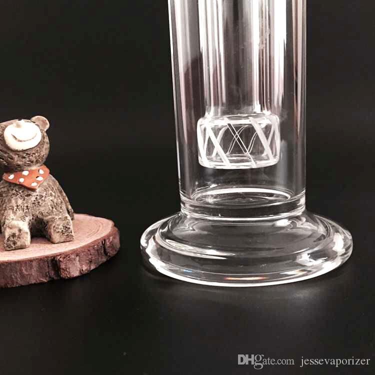 Bobbler a mano in vetro soffiato vaso percolator percolator tubo di fumo d'acqua 18.8mm ciotola di vetro congiunta con cupola unghie inebriante in vetro