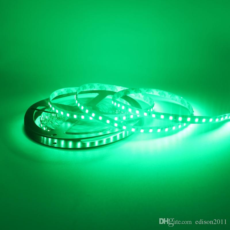 Edison2011 5M 3528 Niet-waterdicht 600 LED Strip Licht 12 V Warm Wit Blauw Groen Rood Geel 120 LED's / M