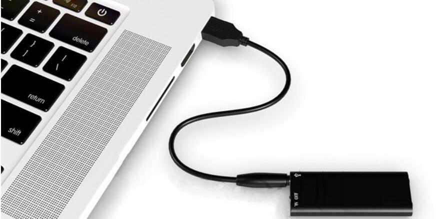 Trois-en-un enregistreur vocal numérique mini-audio Dictaphone 8 Go de mémoire multi-fonction USB2.0 lecteur MP3 USB Flash Disk Drive