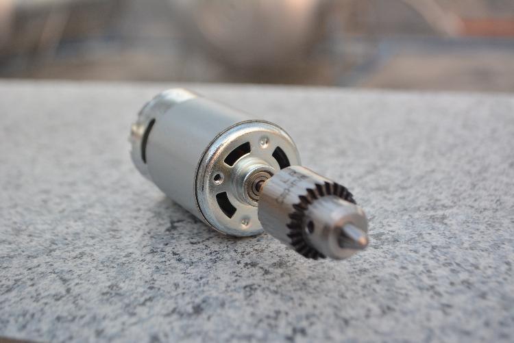 Kugellager 555 Elektromotor Mini Hand Elektrische Bohrmaschine Bohren Kompakteinstellung mit B10-Futter 0,6-6mm oder Jto Chuck 0,3-4mm DIY-Werkzeuge