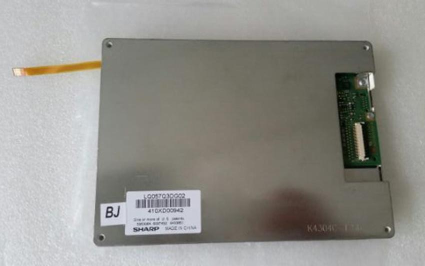 Frete Grátis LQ057Q3DG02 Original usado A + 5.7 POLEGADA LCD DISPLAY Painel de Tela para Equipamentos Industriais