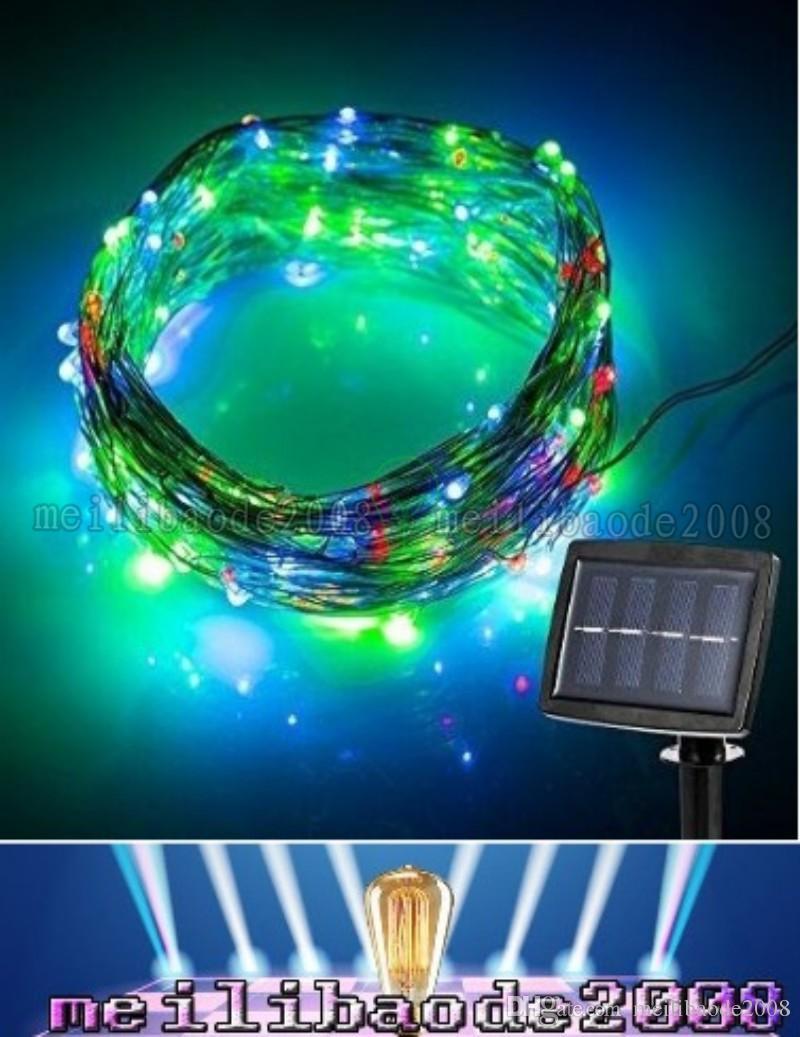 150 Led 15meter Led Solar Powered String Light 2 Modes Steady On ...