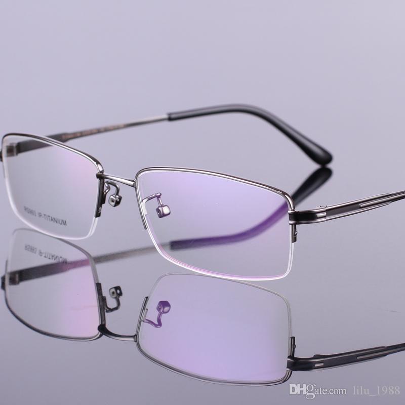 Großhandel 2016 Markenentwerfermänner Titanbrillenrahmen Für ...